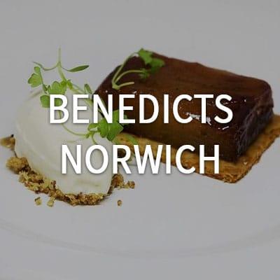 Benedicts - Norwich http://restaurantbenedicts.com/