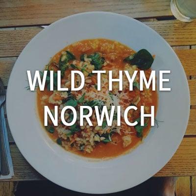 Wild Thyme - Norwich http://wildthymenorwich.co.uk/